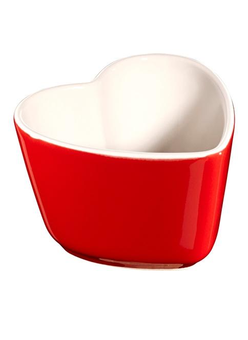Staub Ceramic by Staub 2'li Kalp Şekilli Seramik Kap Kırmızı